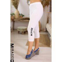 MIRAGE 3/4-es leggings/fehér