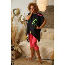 MIRAGE 3/4-es leggings/pink