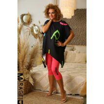 MIRAGE 3/4-es leggings/pink