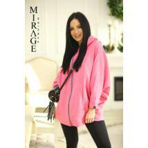 Poncho Mirage/Pink
