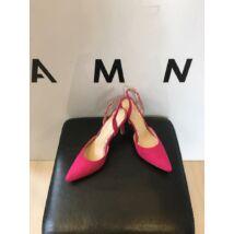 Pink magassarkú cipő