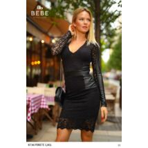 8736/fekete BEBE ruha