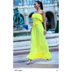 5691/sárga BEBE ruha