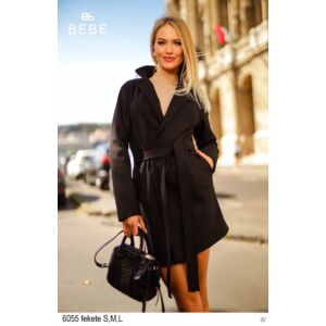 6055 /fekete BEBE kabát M