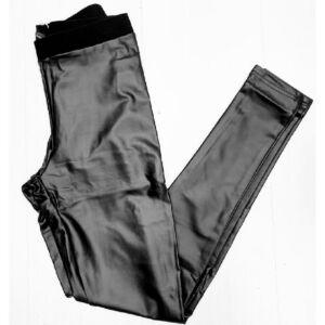 Bőr leggings/sima Italy