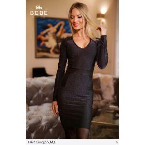 8767/csillogó BEBE ruha