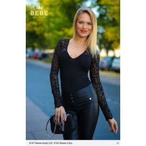 8747/fekete Bebe body