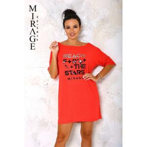 Lujza Mirage ruha/piros