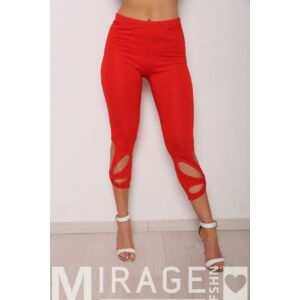 Lilla Mirage leggings/piros