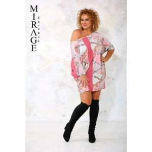 Kloé Mirage ruha/rózsaszín mintás