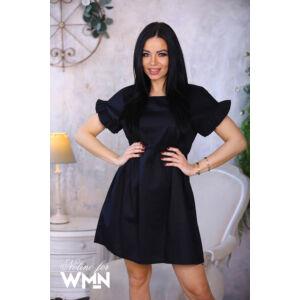Liza Nolino puplin ruha/fekete