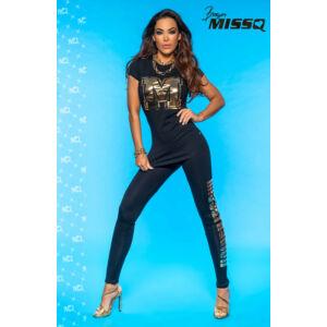 MissQ cicanadrág/Arany-fekete