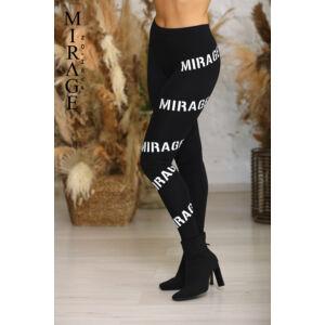 Nyomott Mirage leggings/fekete