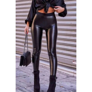 Paula Italy leggings/fekete