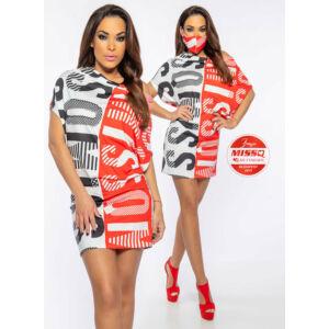 Panama MissQ tunika/piros