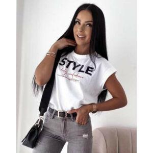 Style Italy felső/fehér