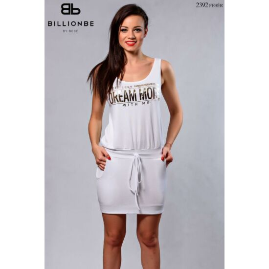 2392/fehér Bebe ruha