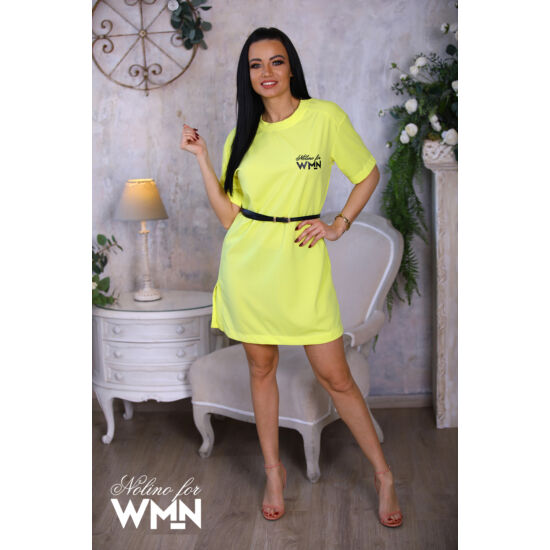 Missy Nolino tunika/neon sárga