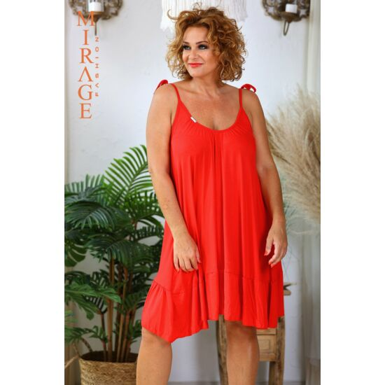Pántlika Mirage ruha/piros