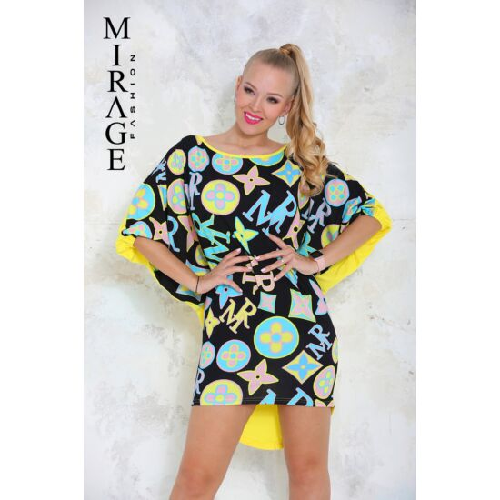 Ariel Mirage tunika/fekete mintás