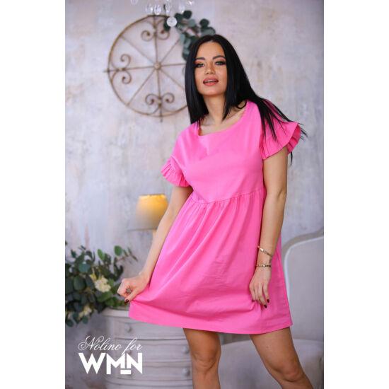 Liza Nolino puplin ruha/pink