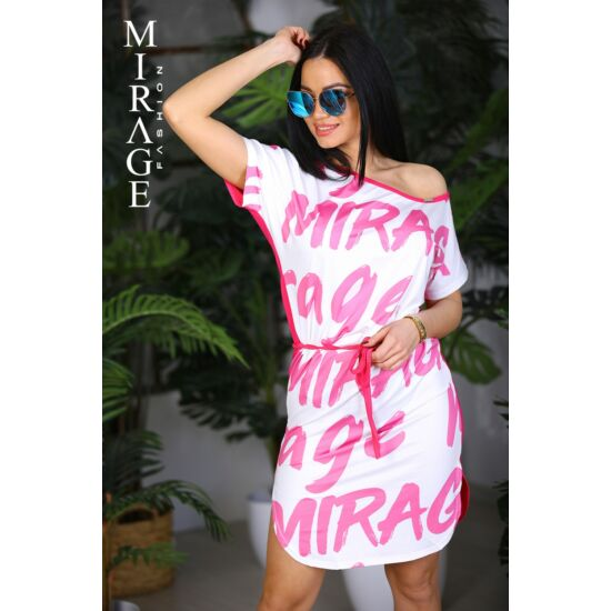 Lottie Mirage ruha/fehér-pink