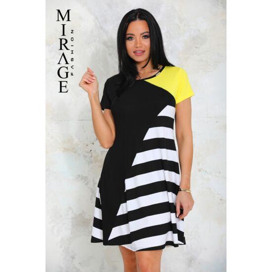 Lovely Mirage ruha/fekete-sárga
