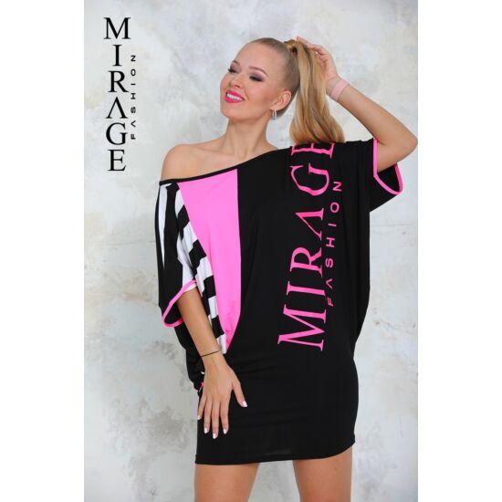 Magenta Mirage tunika/fekete-pink