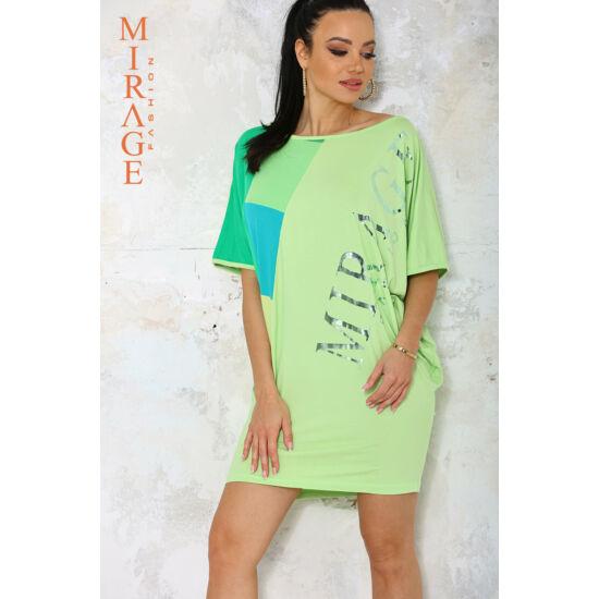 Magenta Mirage ruha/zöld
