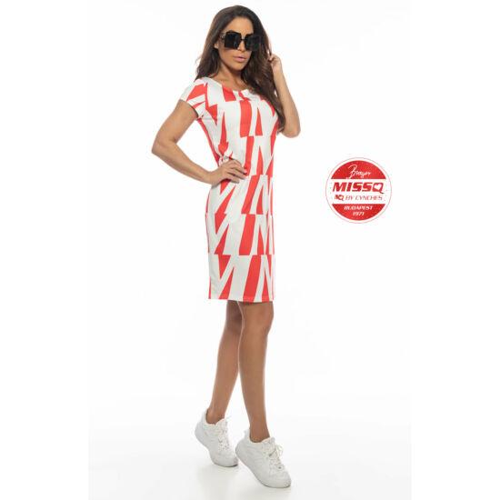 Zsülike MissQ ruha/piros