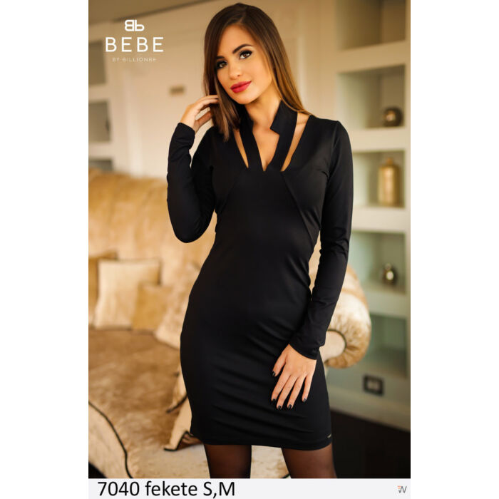 7040 fekete BEBE ruha