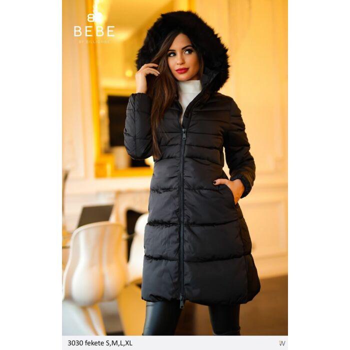3030/fekete BEBE kabát