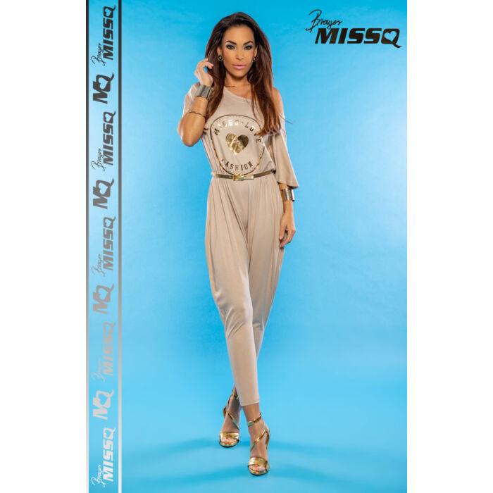 Cairo MissQ overall/Bézs