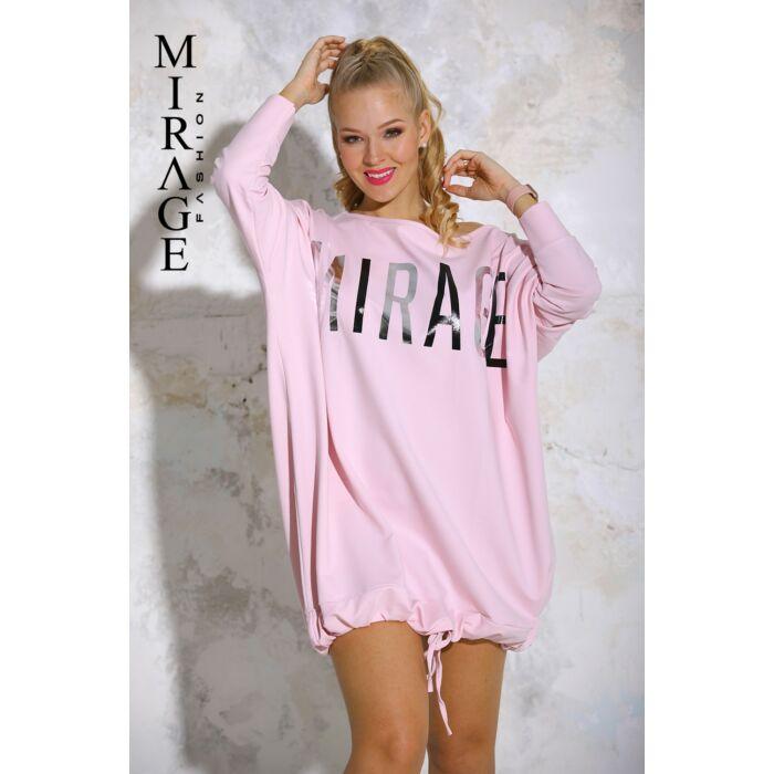 Caramell Mirage pulóver/rózsaszín