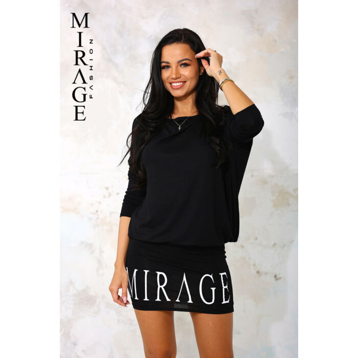 Ludviga Mirage ruha/fekete