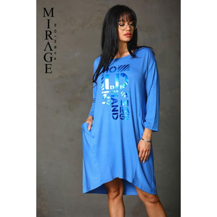 Málna Mirage ruha/kék