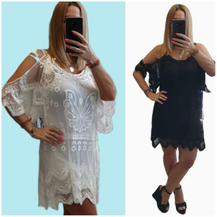 Rose ITALY ruha/fehér