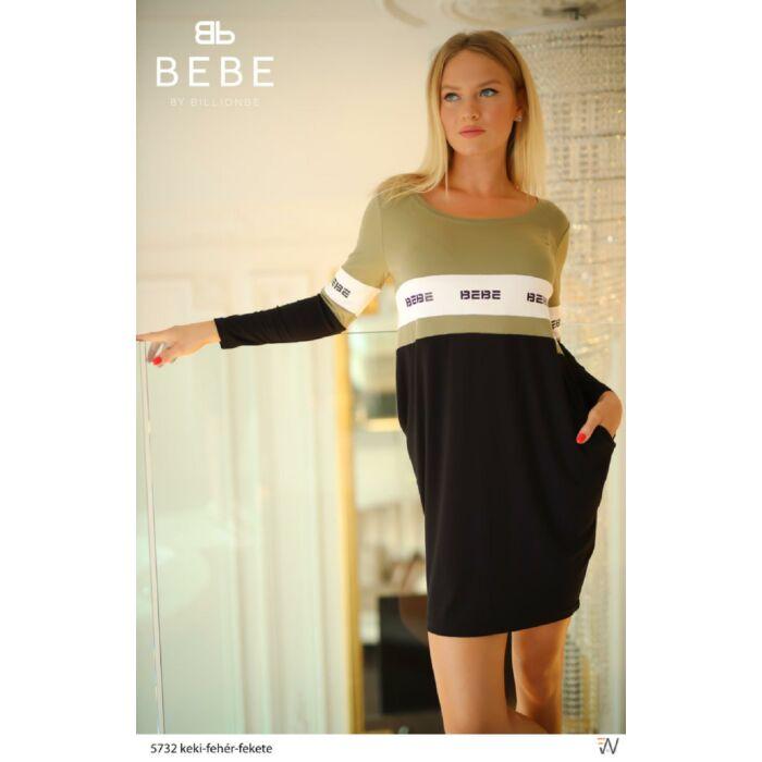 5732/keki-fehér-fekete ruha