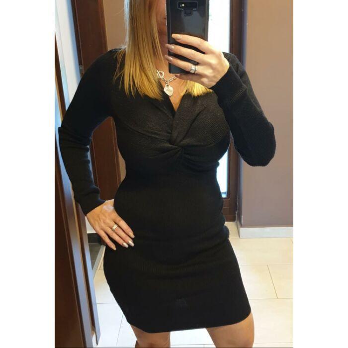 Jázi olasz ruha/fekete