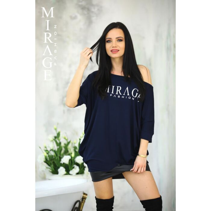 Riana Mirage tunika/kék
