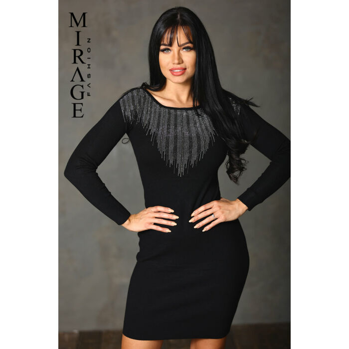 Vilma Mirage ruha/fekete